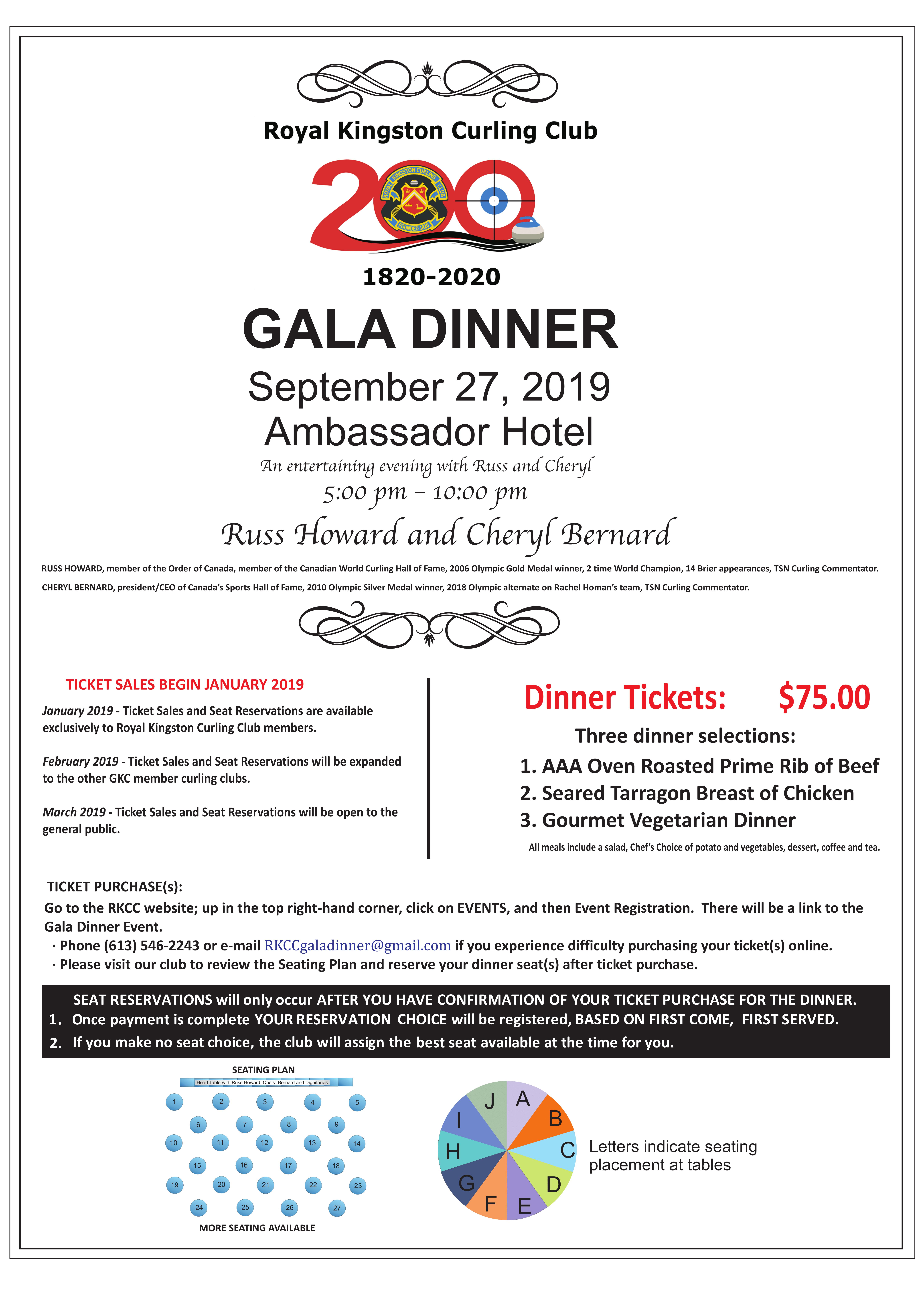 200th Anniversary Gala Dinner